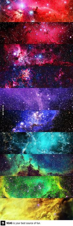 All the colors of the universe