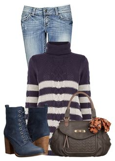 """""""Untitled #12073"""" by nanette-253 ❤ liked on Polyvore featuring BKE, Oasis, Steve Madden and Nica"""