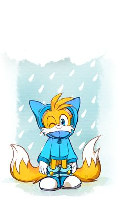 TAILS LOOKS SO CUTE