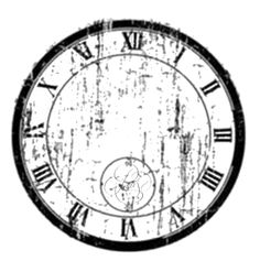 Wall Clock Chic N Shabby Vintage Antique Distressed Style With