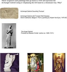 World's Leading Publisher of Left-handed Information and Media Archangel Gabriel, Turin, Left Handed, Jesus Christ, Cathedral, Sculptures, Paintings, Image, Paint