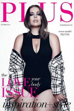 The Body Beautiful: An Empowering Fashion Editorial Featuring Cover Model Fluvia Lacerda - PLUS Model Magazine Curvy Girl Fashion, Plus Size Fashion, Fashion Models, Fashion Beauty, Body Issues, Model Magazine, Fashion To Figure, Model Body, Plus Size Beauty