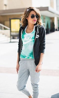 Tie Dye Nike Nike Workout clothes for Women | Fitness Apparel | Gym Clothes | Nike Pro @ http://www.FitnessGirlApparel.com