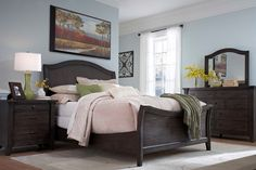 Broyhill Bedroom Furniture Discontinued See More Attic Retreat Weathered Mink Sleigh Collection