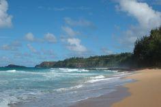 Hiking to Kauai's secluded Secret Beach