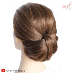 Hairdo For Long Hair, Easy Hairstyles For Long Hair, Up Hairstyles, Short Hair Updo Easy, Easy Hair Up, Updo Hairstyles Tutorials, Hairstyle Ideas, Hair Tutorials For Medium Hair, Medium Hair Styles