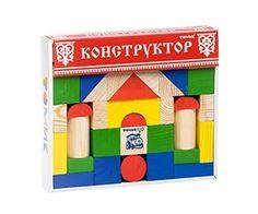 Конструктор классический / «Томик» — экологически чистые деревянные игрушки