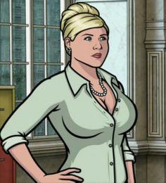 Pam Poovey #archer | Archer tv show, Pam poovey, Archer