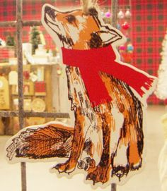 Paperchase Christmas ornament via print & pattern