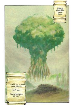 Seiken Densetsu: Legend of Mana manga adapation. The Tree of Mana.