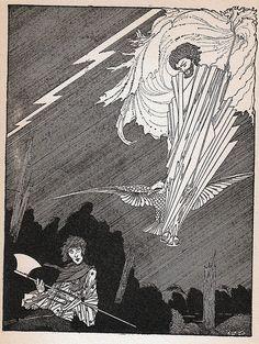 Old Harry Clarke illustrations