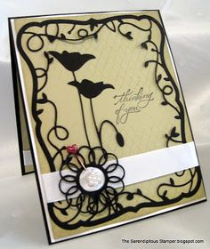 Partial Background Stamping Tutorial by Serendipitous Stamper.