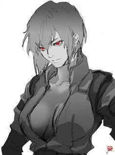 Ghost in a Shell - Motoko in S.A.C by *89g on deviantART