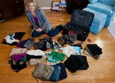 Arrume as malas como os profissionais: aprenda como a comissária  leva roupa para 10 dias em uma maleta