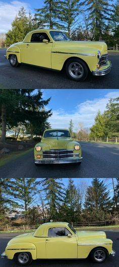 1949 Plymouth Business Coupe Custom [nicely detailed] Custom Cars For Sale, Crate Engines, Pinstriping, Exterior Lighting, Box Frames, Automatic Transmission, Plymouth, Mustang, Cutaway