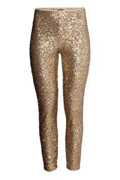 Pantaloni con paillettes | H&M