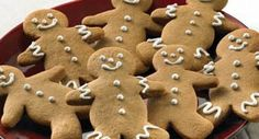 Gingerbread Men Cookies: These Gingerbread Men Cookies are as cute as can be. If desired, decorate with raisins, currants or cinnamon red hot candies for eyes and buttons. Or, pipe untinted...