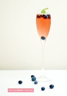 Styling & Photography by yourstrulypaper.com Read more - http://www.stylemepretty.com/2013/07/05/blueberry-basil-cocktail-from-yours-truly/