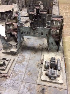 Warhammer World Cities of Death board