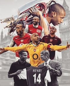 Kariera piłkarska Thierry Henry w Arsenal FC #pilkanozna #piłkanożna #futbol #sport #football #soccer #sports #henry #thierryhenry #arsenal Arsenal Football Club, Arsenal Fc Players, Aubameyang Arsenal, Football Icon, Best Football Players, Football Art, Arsenal Badge, Football Images, Thierry Henry
