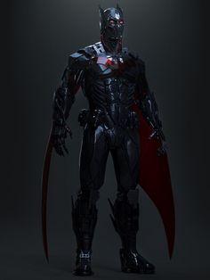 Dc Comics Superheroes, Dc Comics Characters, Dc Comics Art, Batman Armor, Batman Suit, Batman Beyond Suit, Batman Poster, Batman Comic Art, Batman Concept Art