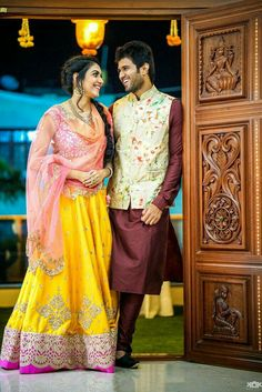 136 best indian wedding couple photography images in 2019 Wedding Dress Men, Indian Wedding Outfits, Bridal Outfits, Wedding Couples, Mens Wedding Wear Indian, Engagement Dress For Men, Engagement Outfits, Romantic Couples, Wedding Ring