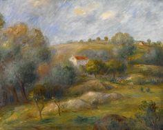 Pierre Auguste Renoir Poster Springtime In Essoyes