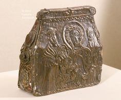 Carolingian metalwork,silver and copper. 8th cent.