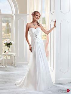 Robe de mariée Mlle Ysatis, robe de mariée chic, robe de mariage fluide…