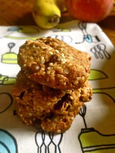 Paleo Breakfast Cookies- can make as granola and eat as a cereal with coconut milk and berries.