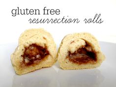Here's a great recipe for gluten free resurrection rolls to help you tell the story of Easter to your little ones!