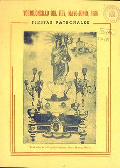 """Fiestas en Torrejoncillo del Rey (Cuenca) en honor a la Virgen de la Piedad de Urbanos del 1 al 6 de junio de 1966 Se celebra el tradicional """"Galopeo"""" #Fiestaspopulares #TorrejoncillodelRey #Cuenca"""