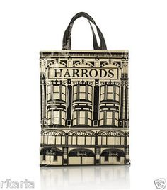 9ed8cc99b725d Fashion Harrods London Girls PVC Tote Bag Top-handle Casual Shopping Handbag  | eBay