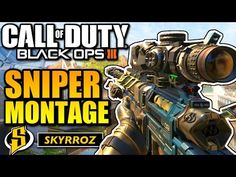 Call of duty Black Ops 3 Sniper montage (cod bo3 sniping gameplay) - YouTube