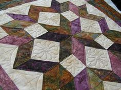 carpenter star quilt pattern free - Google Search