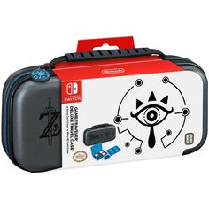 Nintendo Switch Game Traveler Deluxe Travel Case - Grey