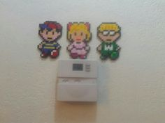 Ness, Paula, and Jeff from Earthbound.