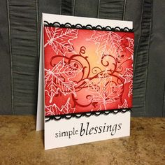 Bucket Full of Cards: Simple Blessings  Unity Stamps  Stampin' Up!