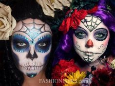 50 Halloween Best Calaveras Makeup Sugar Skull Ideas for Women