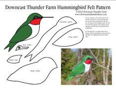 38 Ideas for bird crafts template felt patterns Felt Ornaments Patterns, Bird Ornaments, Felt Christmas Ornaments, Felt Patterns, Bird Patterns, Sewing Patterns, Ornaments Ideas, Bird Crafts, Felt Crafts