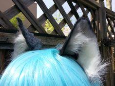 wolf ears by woodlandcreatureshop on Etsy Wolf Ears, Metal Headbands, Wire Frame, Fox, Costume, Silver, Etsy, Costumes, Fancy Dress
