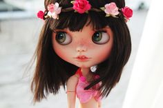 "OOAK Custom Blythe Doll SBL ""Chérie"" by Cihui"