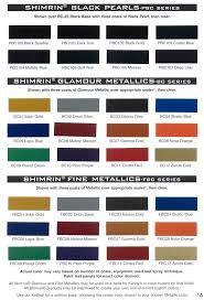 gm auto color chips | Color Chip Selection | Auto paint colors ...