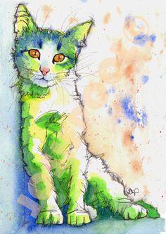 Josie P, cat