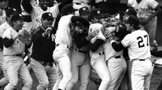 And let us not forget...  On this day October 2, 1978. New York Yankees shortstop Bucky Dent's Home Run that helps the Yankees defeat the Boston Red Sox dramatic one-game playoff at Fenway Park.