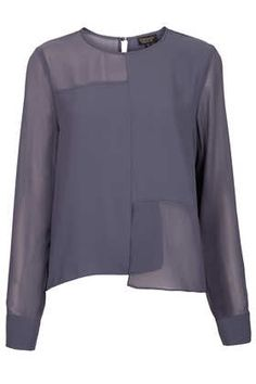 Longsleeve Seamed Panel Tunic