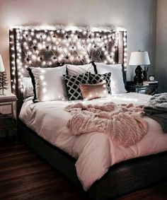 Creative and Small Bedroom Design and Decoration Ideas Part bedroom ideas; bedroom ideas for small rooms; bedroom design for couples; Dream Rooms, Dream Bedroom, Girls Bedroom, Teen Bedrooms, Pretty Bedroom, Cozy Bedroom, Home Decor Bedroom, Bedroom Ideas, Light Bedroom