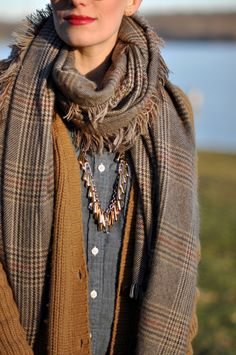 Winter scarves that pull an outfit together with your coat