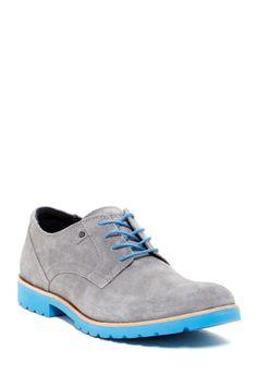 blue sole man shoes