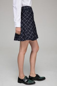 Skater skirt in tartan, How would you style this for fall? http://keep.com/skater-skirt-in-tartan-by-whatsfordunch/k/3SD-PXgBJy/